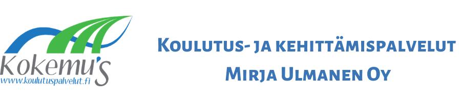 Koulutus- ja Kehittämispalvelut  Mirja Ulmanen Oy - Jos sinulla on koulutuspulmanen soita apuun Ulmanen!